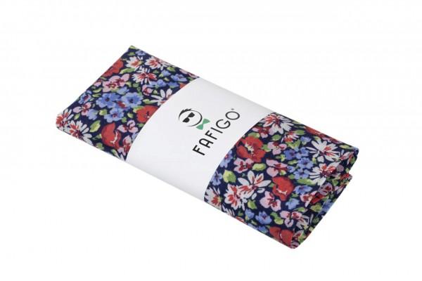 """""""Fra Segesta"""", Einstecktuch mit floralem Muster"""